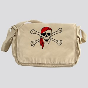 To Arr Is Pirate Adult White Messenger Bag