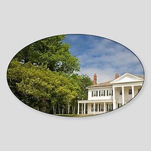 Charlottetown. Government Househarl Sticker (Oval)