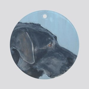SQ BlackLab Round Ornament