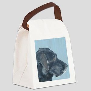 SQ BlackLab Canvas Lunch Bag