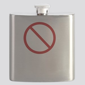 Phase Me Bro White Flask