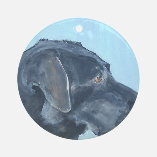 MouseLite BlackLab Round Ornament
