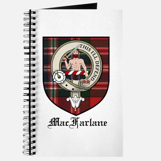 MacFarlane Clan Crest Tartan Journal