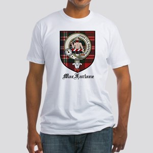 MacFarlane Clan Crest Tartan Fitted T-Shirt