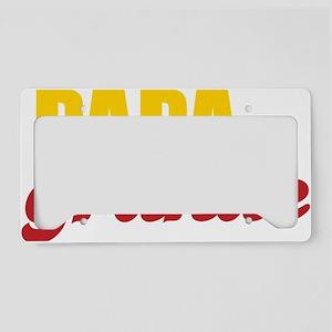 papagrande License Plate Holder