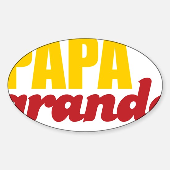 papagrande Sticker (Oval)