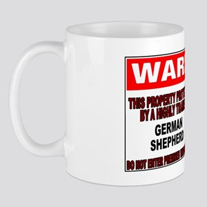 GERMANSHEPHERDGUARDSIGN Mug
