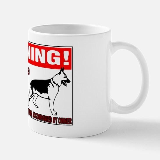 GERMANSHEPHERDGUARDSIGN Mug