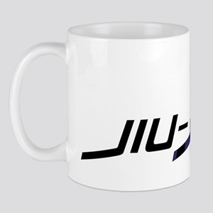lifestyle blue Mug