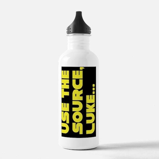 lukeyello copy Water Bottle