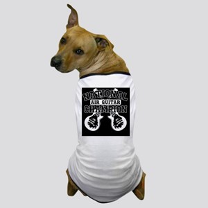 guitarblk copy Dog T-Shirt
