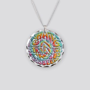 long-strange-LTT Necklace Circle Charm