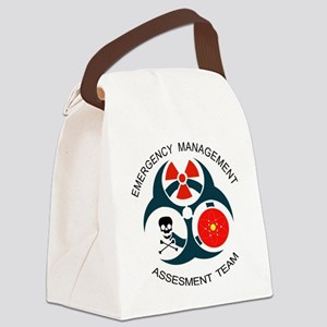 EMSTwithText Canvas Lunch Bag