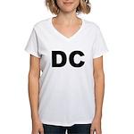 DC Women's V-Neck T-Shirt