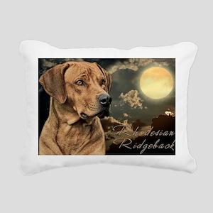portrait5(laptop) Rectangular Canvas Pillow