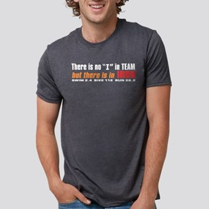 """""""There is no I in TEAM"""" Black T-Shirt"""