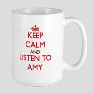 Keep Calm and listen to Amy Mugs
