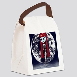 Vampire Canvas Lunch Bag