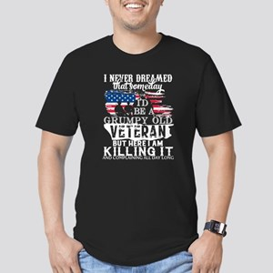 I'm A Grumpy Old Veteran T Shirt T-Shirt
