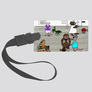 The Three Blind Mice Large Luggage Tag
