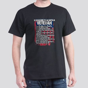 The Reasons To Be With A Veteran T Shirt T-Shirt
