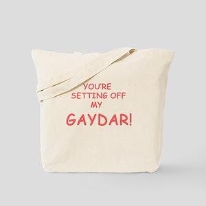 Gaydar Gay Tote Bag