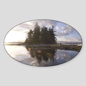 Pacific Rim National Park Preserve Sticker (Oval)