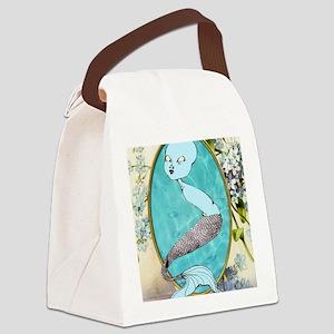 mermaid3 Canvas Lunch Bag