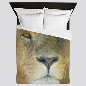 Lion ipad Queen Duvet