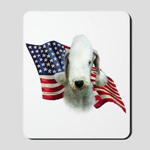 Bedlington Flag Mousepad