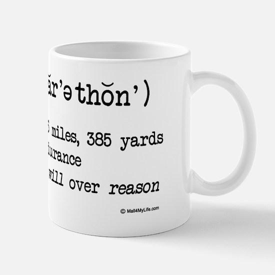 Marathon Definition for light Mug