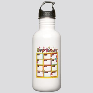 happy_birthday Stainless Water Bottle 1.0L