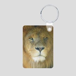 Lion pposter Aluminum Photo Keychain