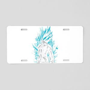 Super Saiyan God Blue Veget Aluminum License Plate