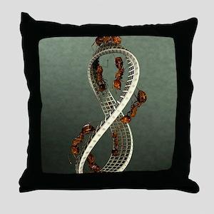 EscherLargeResized Throw Pillow