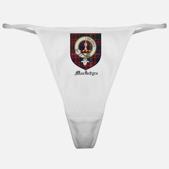 MacIntyre Clan Crest Tartan Classic Thong