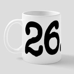 262 Marathon Definition - Front for lig Mug