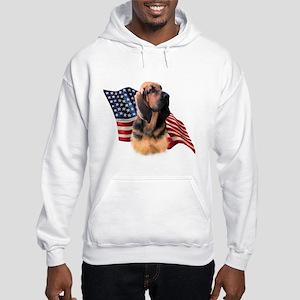 Bloodhound Flag Hooded Sweatshirt