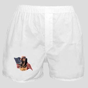 Bloodhound Flag Boxer Shorts