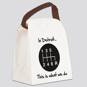 detroit Canvas Lunch Bag