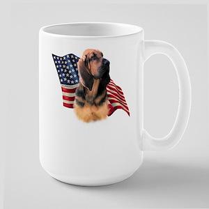 Bloodhound Flag Large Mug