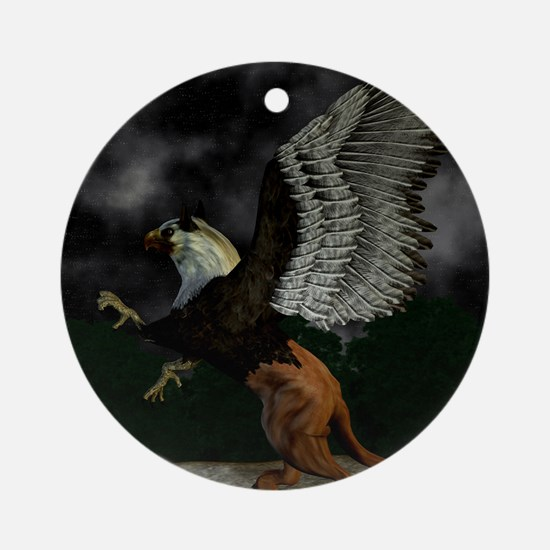 griffin Round Ornament