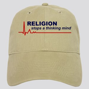 Religion Stops a Thinking Mind Cap / Hat
