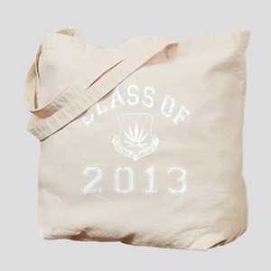 CO2013 SOHK Weed White Distressed Tote Bag