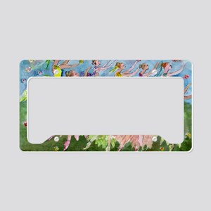 flowerdance1. License Plate Holder