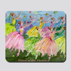 flowerdance1. Mousepad