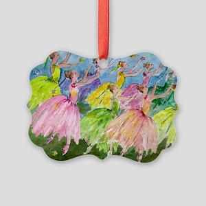 flowerdance1. Picture Ornament