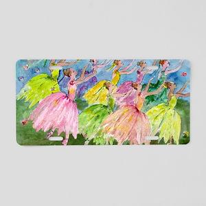 flowerdance1. Aluminum License Plate