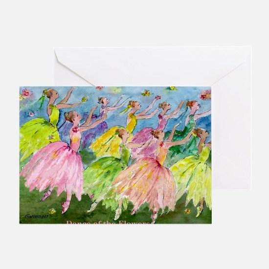 flowerdance1. Greeting Card
