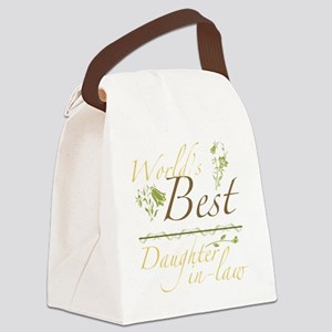Garden_DaughterInLaw Canvas Lunch Bag